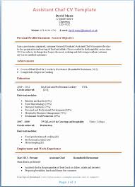 chef resume templates chef resume template best of chef resume sle exles sous chef