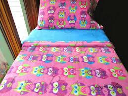 kids bedding sets for girls childrens bedding set pink owls for
