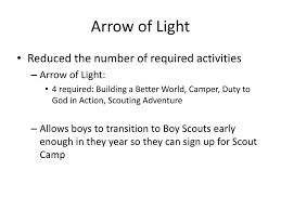 arrow of light scouting adventure cub scout program updates ppt download
