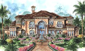 stunning two story luxury home plan 66070we architectural