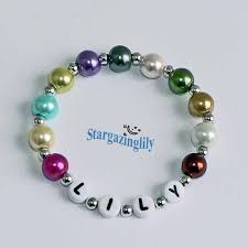 infant name bracelet personalized children s name bracelet infant baby toddler