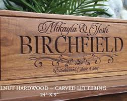 wedding gifts engraved custom wedding gift etsy
