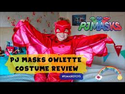 pj masks owlette costume review dear mummy blog