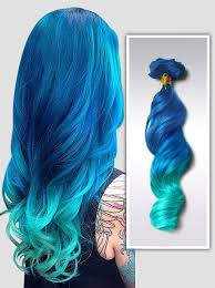mermaid hair extensions mermaid ombre colorful indian remy clip in hair extensions cs013