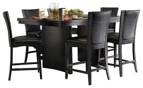 7 piece counter height dining room sets living in context