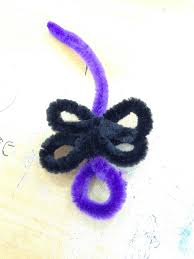 how to make halloween rings out of pipe cleaners canak knock