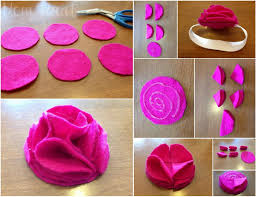 how to make a baby headband mart diy felt flower baby headbands tutorial