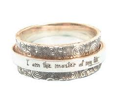 worry ring personalized spinner ring statement ring worry
