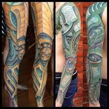 bio organic tattoo artist adamfrance is a tattoo artist and