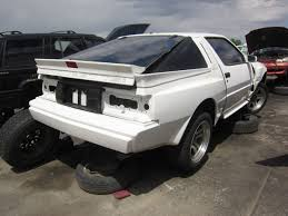 mitsubishi starion junkyard find 1988 dodge conquest tsi the truth about cars