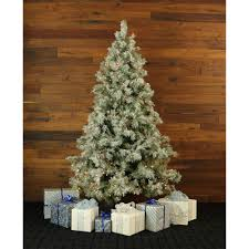 Ez Artificial Christmas Tree Stand 9 0 Ft Glistening Pine Tree With Pine Cones Clear Led Lights And