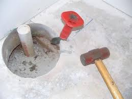 Installing Basement Shower Drain by How To Finish A Basement Bathroom Shower Drain Rough In