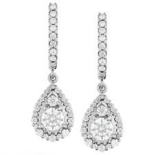 teardrop diamond earrings hearts on 18k white gold teardrop halo diamond earrings