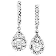 diamond teardrop earrings hearts on 18k white gold teardrop halo diamond earrings