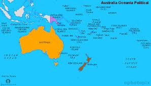 map of australia political australia and oceania political map political map of australia