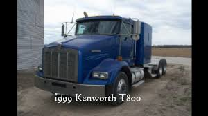 kenworth t700 for sale canada 1999 kenworth t800 flat top sleeper for sale video dailymotion