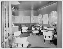 S S Office Interiors Vintage Photos Capture Ss United States As A Midcentury Modern