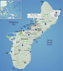 Map Of Guam Red Paw Technologies Guam