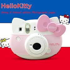 fujifilm instax mini 8 instant camera kitty package pink