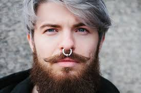 male nose rings images 19 different types of nose rings plus interesting facts jpg