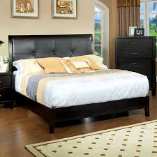 shop furniture of america enrico espresso queen platform bed at