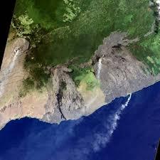 Hawaii Lava Flow Map Lava Flow From The Kilauea Volcano In Hawaii U2022 Earth Com