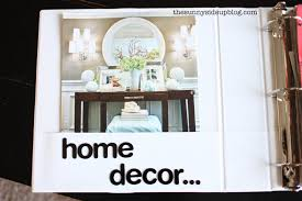Home Decor Binder re do The Sunny Side Up Blog
