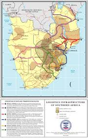 Map Of Southern Africa by Logistics Infrastructure Of Southern Africa South Africa Reliefweb