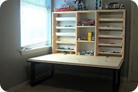wall mounted fold down desk plans diy fold down table shelby knox