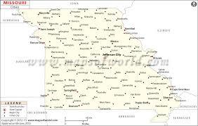 missouri map cities in missouri missouri cities map