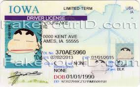 iowa fake id cards replication image sample at fakeyourid com