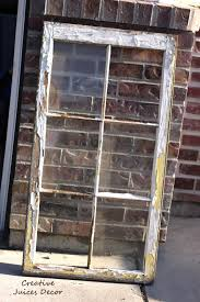 A Frame For Sale Repurposing A Window Frame Into A Picture Frame