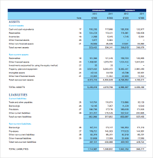 Income Statement Excel Template 6 Free Income Statement Templates Word Excel Sheet Pdf