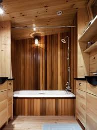 wood bathroom ideas stained shiplap in bathroom or any wall really lesson shiplap