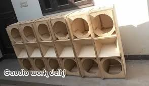 empty 15 inch speaker cabinets line array empty cabinet dual 12 at rs 25000 piece line array
