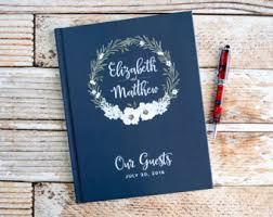 wedding guest keepsakes wedding guest books etsy
