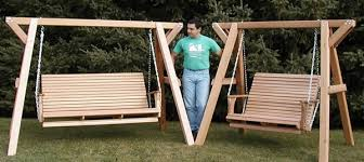 wooden family porch swing bench with frame best adirondack chair