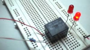 Simple Circuit Diagrams Beginners How To Make A Simple Relay Circuit Youtube