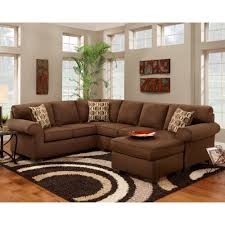 sectional sleeper sofa with chaise and cushions decor crave
