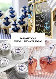 themed bridal shower decorations 24 chic nautical themed bridal shower ideas weddingomania