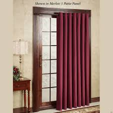 Door Panel Curtains Blinds Track Panel Curtains Charcoal Sheer Linen S Searchl