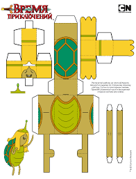 adventure time paper toy molde paper toy pinterest paper