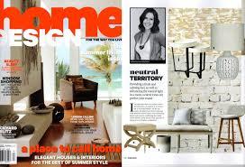 home interior magazine art galleries in home design magazines
