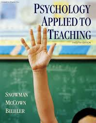 psychology applied to teaching pdf download available