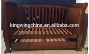 Sleigh Cot Bed Nz Pine Wooden Sleigh Cot Bed Dropside With Drawer Buy Sleigh