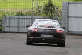porsche 911 facelift 2016 porsche 911 revealed in spyshots facelift looks even