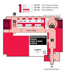 100 hynes convention center floor plan clinic floor plans