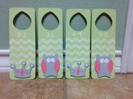 Hangers For Baby Clothes Made Closet Dividers For Emma Bought Door Hangers From Walmart