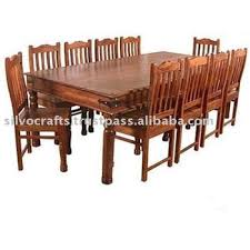 Indian Dining Chairs Indian Jodhpur Rajasthan Solid Sheesham Wood Dining Sets With