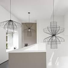 Suspension 3 Lampes Pour Cuisine by Parachute Suspensions Designer Nathan Yong Ligne Roset